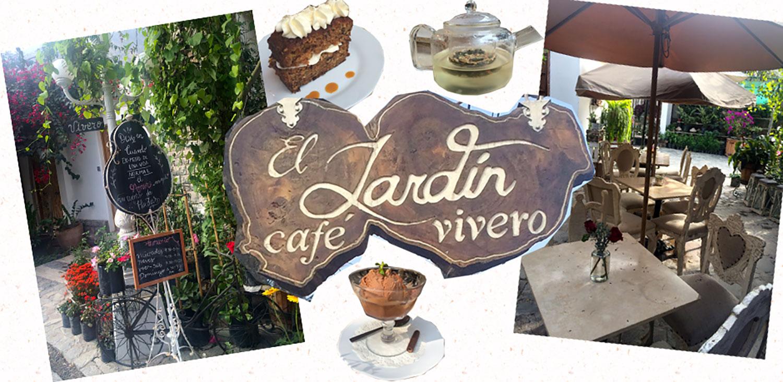 El jard n caf vivero cinnamon style for Vivero el jardin