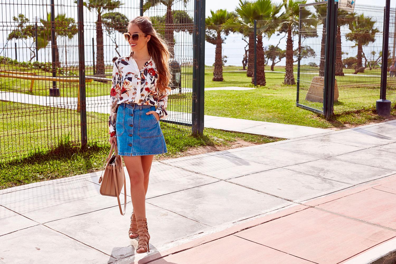 f08da025ab ... falda de jean con botones  Fashion · Outfits · Sin categoría