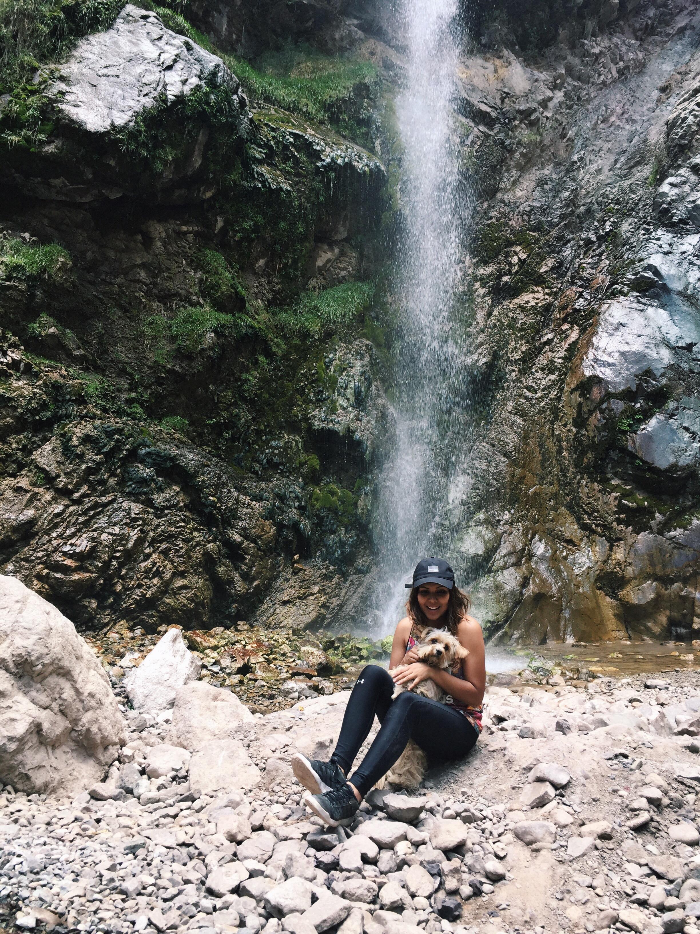 Catarata de Antankallo - De Pasada