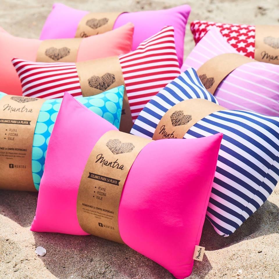 cojines de playa - regalos - depasadatips