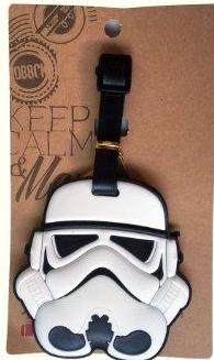 Stormtrooper travel tag - etiqueta de viaje - depasadatips